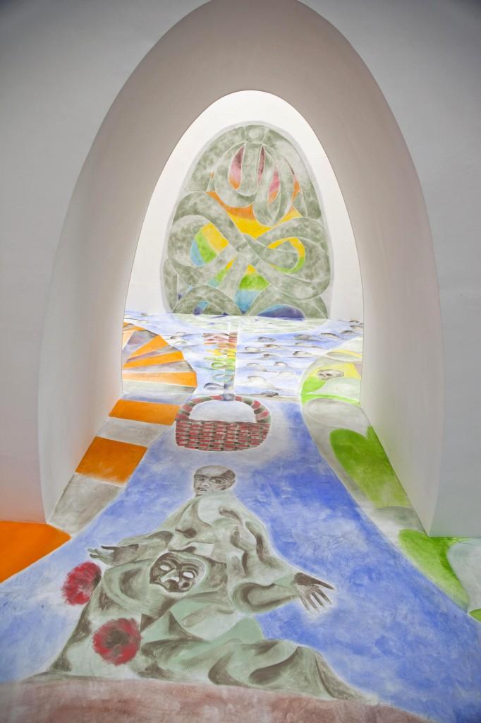 Francesco Clemente, Ave Ovo, 2005. Courtesy Fondazione Donnaregina per le arti contemporanee, Napoli. Foto © Amedeo Benestante