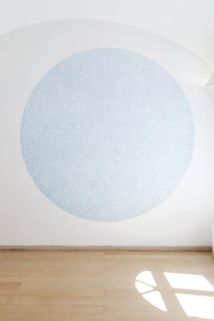 Sol LeWitt, 10,000 Lines, 2005. Courtesy Fondazione Donnaregina per le arti contemporanee, Napoli. Foto © Amedeo Benestante.