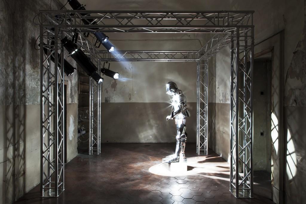 Eric Wesley. Installation view, Fondazione Morra Greco, 2013. Foto © Amedeo Benestante