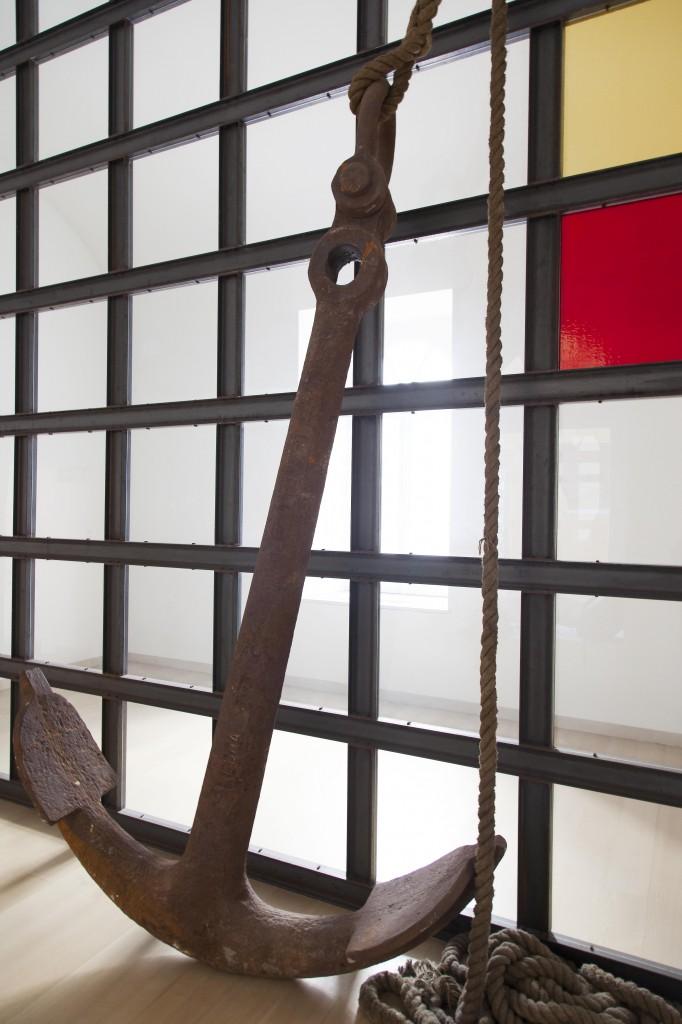 Jannis Kounellis, Senza titolo, 2005. Courtesy Fondazione Donnaregina per le arti contemporanee, Napoli. Foto © Amedeo Benestante.