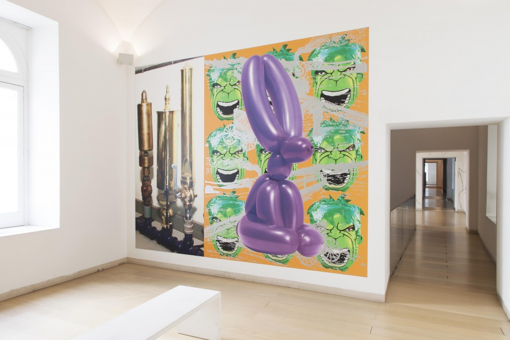 Jeff Koons, Untitled, 2005. Photo © Amedeo Benestante.