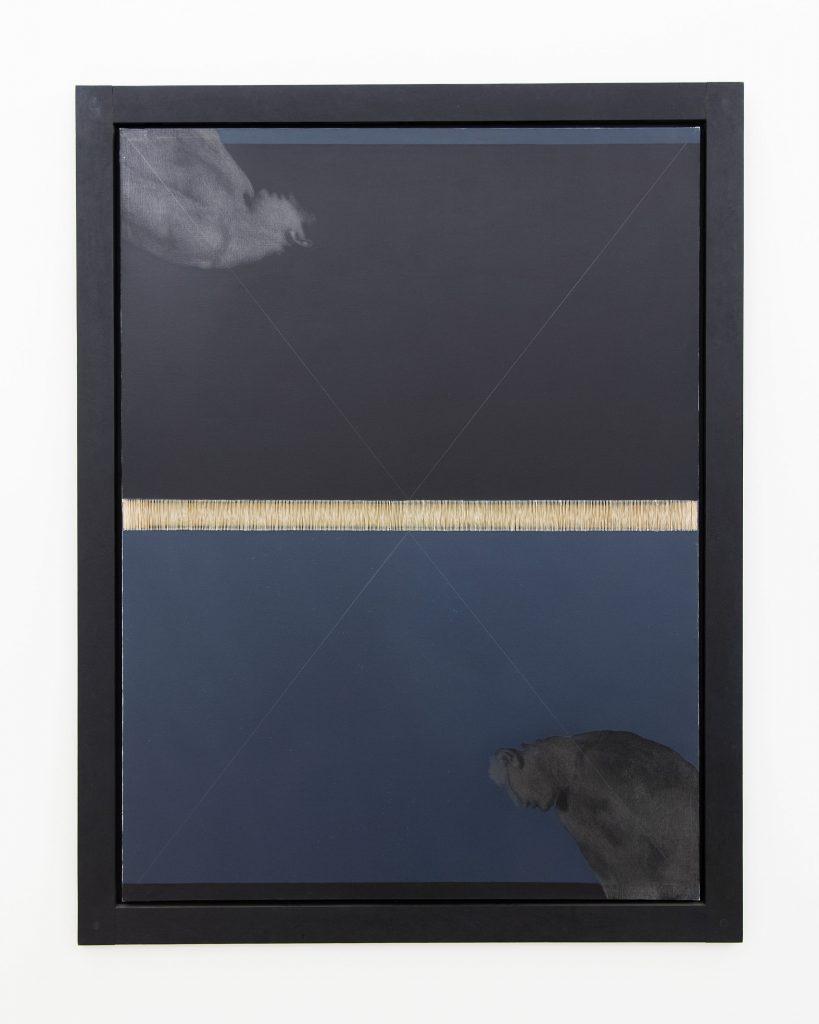Carlo Alfano, Figura n. 9 / Figure n. 9, 1984. Private collection. On loan to Madre · museo d'arte contemporanea Donnaregina, Naples. Photo © Amedeo Benestante.