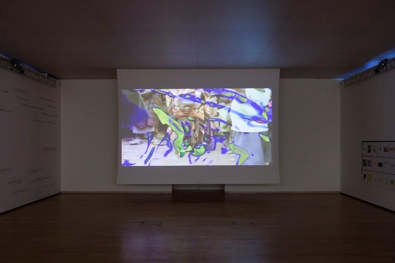 Nanni Balestrini, Tristanoil, 2012. Collezione Fondazione Donnaregina per le Arti Contemporanee, Napoli. Donazione dell'artista. Foto © Amedeo Benestante.