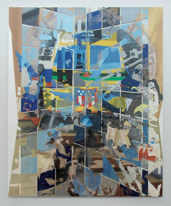 Pádraig Timoney, Meepmeep Popup, 2011. Courtesy l'artista, Andrew Kreps Gallery, New York e Galleria Raucci/Santamaria, Napoli.