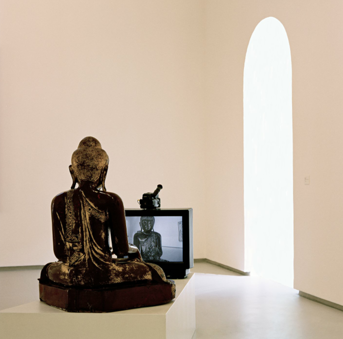 Nam June Paik, TV Buddha, 1985.