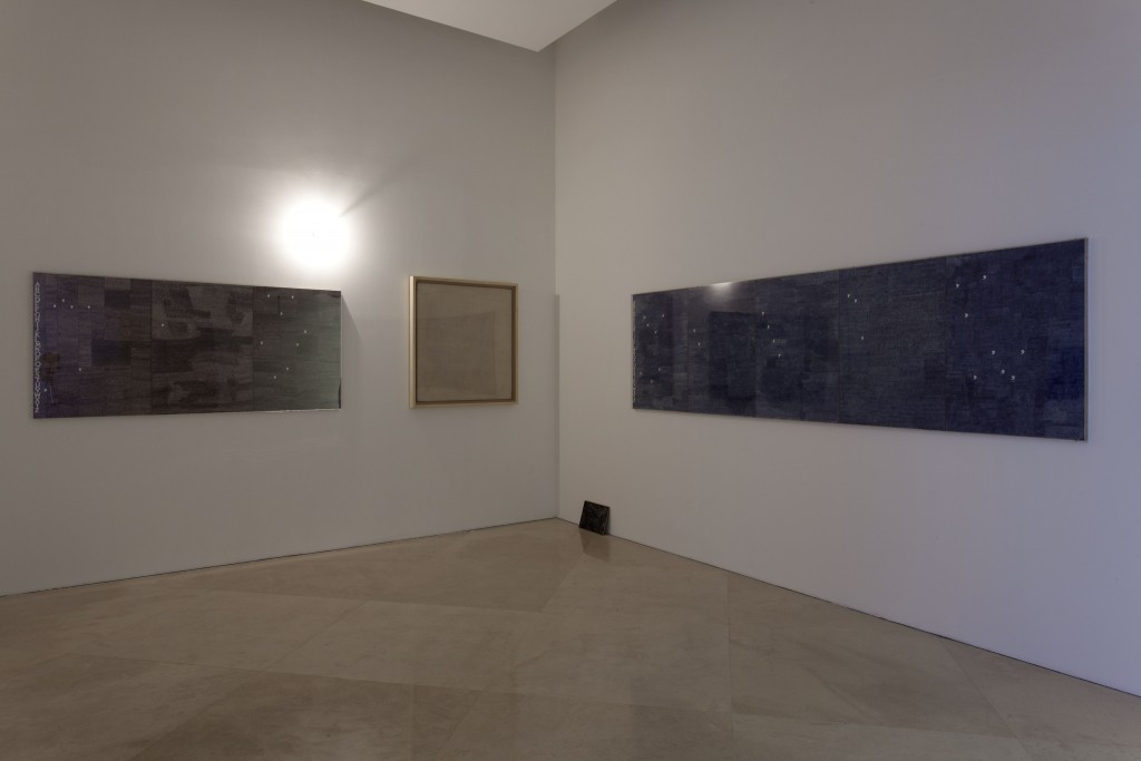 Alighiero Boetti, AB:AW=MD:L, 1967. Collezione Enea Righi, Bologna. In comodato a Madre · museo d'arte contemporanea Donnaregina, Napoli. Foto © Amedeo Benestante.