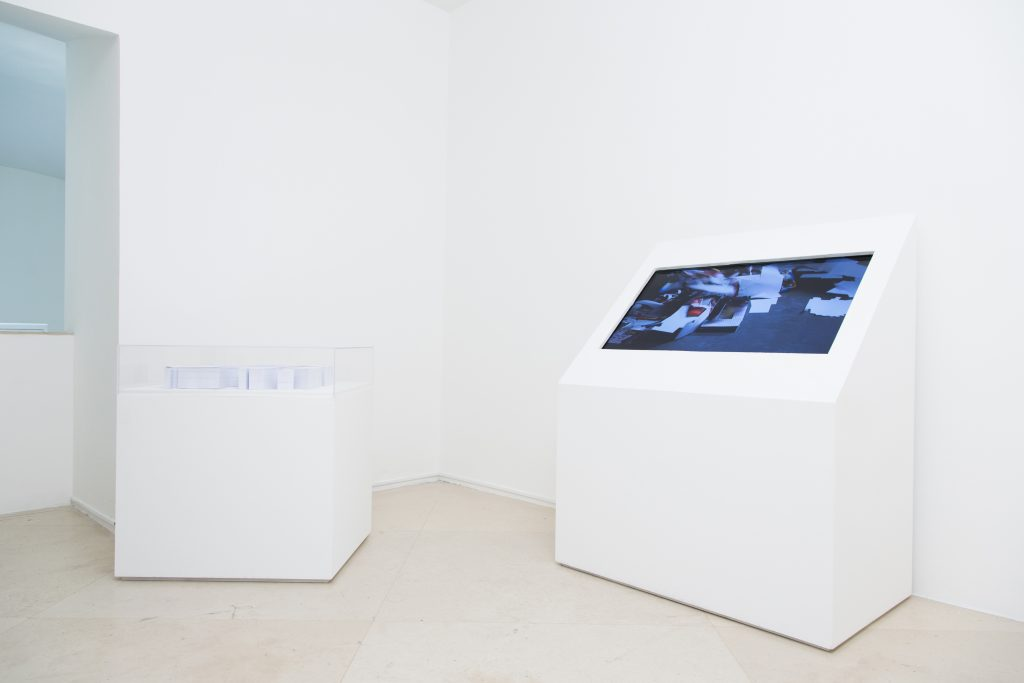 Marisa Albanese, Via Settembrini, 2012-14; Spazi privati, 2014 (veduta dell'allestimento). Courtesy l'artista e Studio Trisorio, Napoli. In comodato a Madre · museo d'arte contemporanea Donnaregina, Napoli. Foto © Amedeo Benestante.