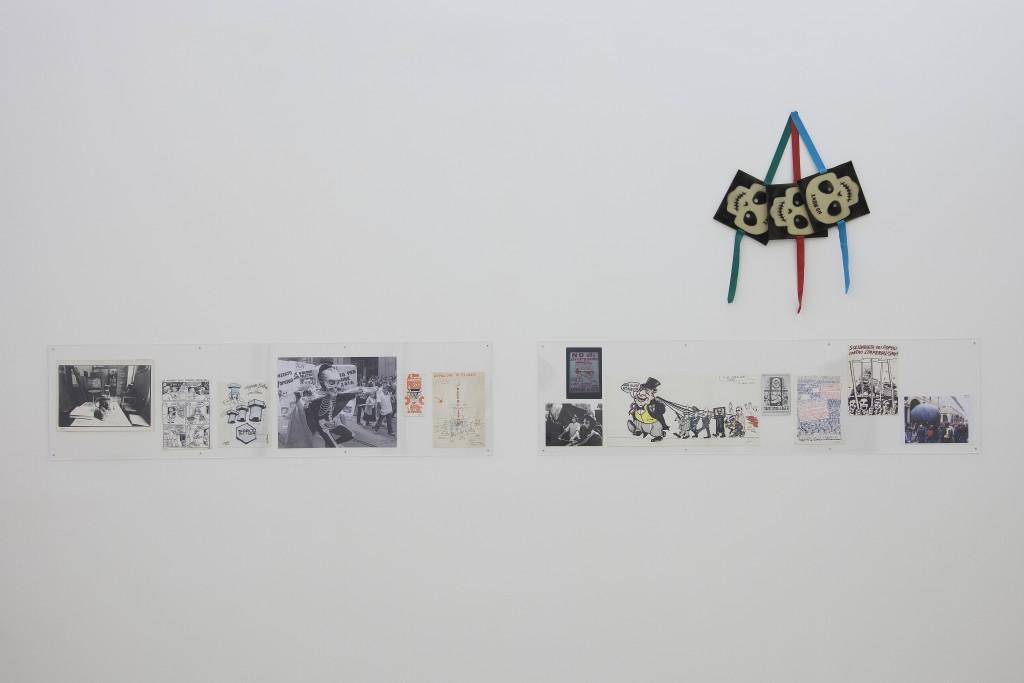Piero Gilardi, Documentazione su animazioni politiche, 1969-2013. Courtesy Fondazione Centro Studi Piero Gilardi e Galleria Guido Costa Project. In comodato a Madre · museo d'arte contemporanea Donnaregina, Napoli. Foto © Amedeo Benestante.