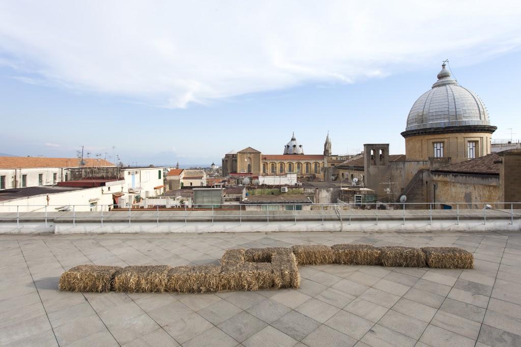Gino Marotta, Giardino all'italiana, 1968. Collezione privata, Roma. In comodato a Madre · museo d'arte contemporanea Donnaregina, Napoli. Foto © Amedeo Benestante