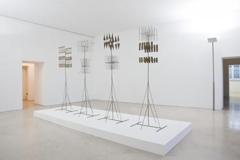 Fausto Melotti, Veduta della mostra, Museo Madre, Napoli. Foto ©  Amedeo Benestante.   Fausto Melotti, Installation view, Madre Museum, Naples. Photo ©  Amedeo Benestante.