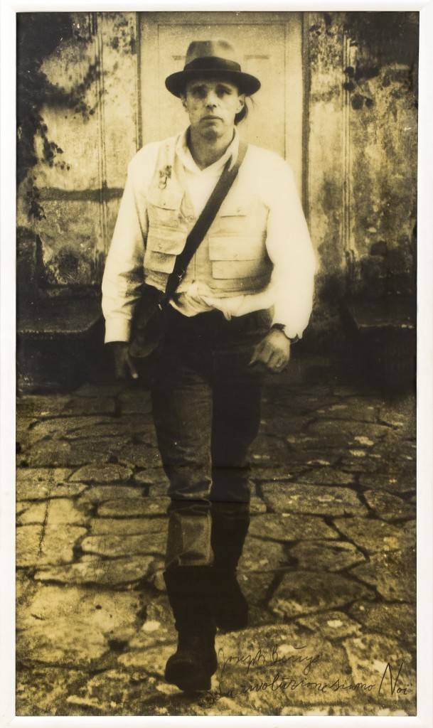 Joseph Beuys, La Rivoluzione siamo noi, 1971. Private collection, Napoli. Photo © Amedeo Benestante.