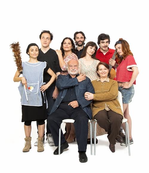 David Robbins, TV Family, 2014. Courtesy l'artista, Galleria Raucci/Santamaria, Napoli, e Fondazione Donnaregina per le arti contemporanee, Napoli. Foto © Amedeo Benestante