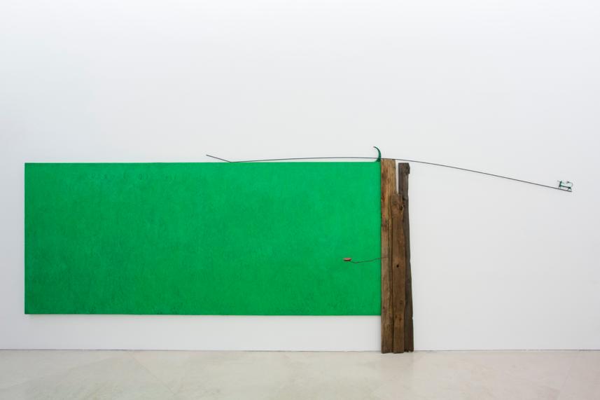 Giuseppe Maraniello, Il diavolo è verde, 1979.  Collezione dell'artista, Milano. In comodato a Madre · museo d'arte contemporanea Donnaregina, Napoli. Foto © Amedeo Benestante.