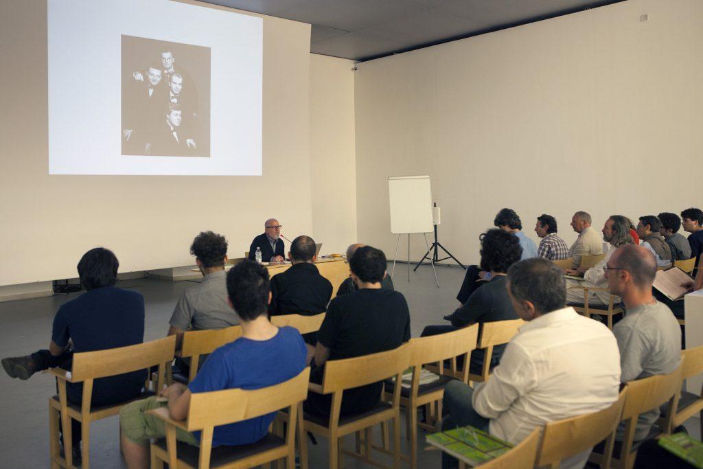 MADREscenza Seasonal School #4. Seminario con Stephen Prina. Foto © Claudia Nuzzo