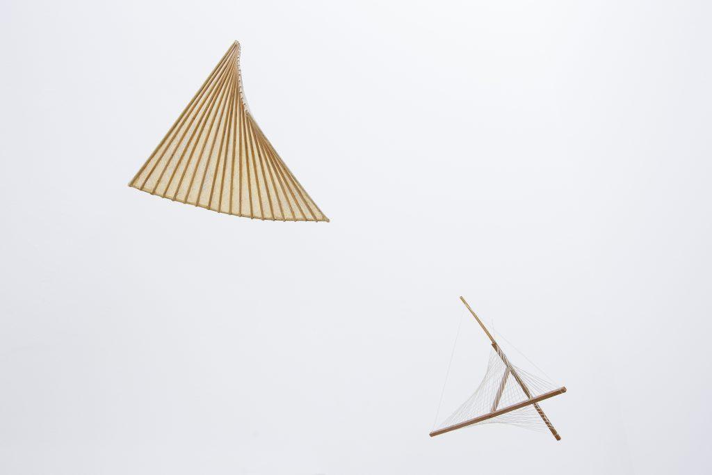 Riccardo Dalisi, Struttura 1 e Struttura 2, anni Settanta. Courtesy l'artista. In comodato a Madre · museo d'arte contemporanea Donnaregina, Napoli. Foto © Amedeo Benestante.