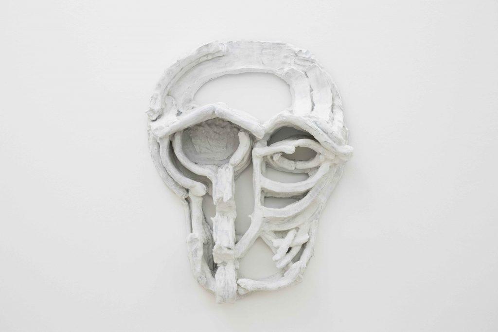 Thomas Houseago, Roman Mask I / Maschera romana I, 2013. Collezione Ernesto Esposito, Napoli. In comodato a Madre · museo d'arte contemporanea Donnaregina, Napoli. Foto © Amedeo Benestante.