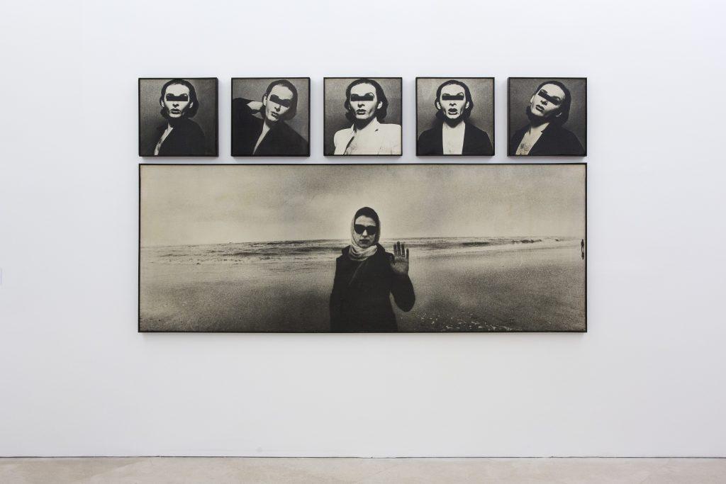 Urs Lüthi, Autoritratto in sei pezzi, 1975. Collezione Fondazione Morra, Napoli. In comodato a Madre · museo d'arte contemporanea Donnaregina, Napoli. Foto © Amedeo Benestante.