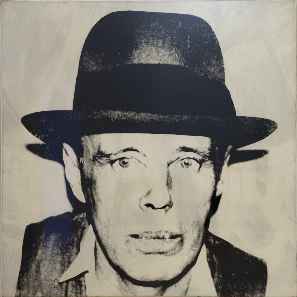Andy Warhol, Beuys by Warhol, 1980. Private collection. On loan to Madre · museo d'arte contemporanea Donnaregina, Naples. Photo © Amedeo Benestante.