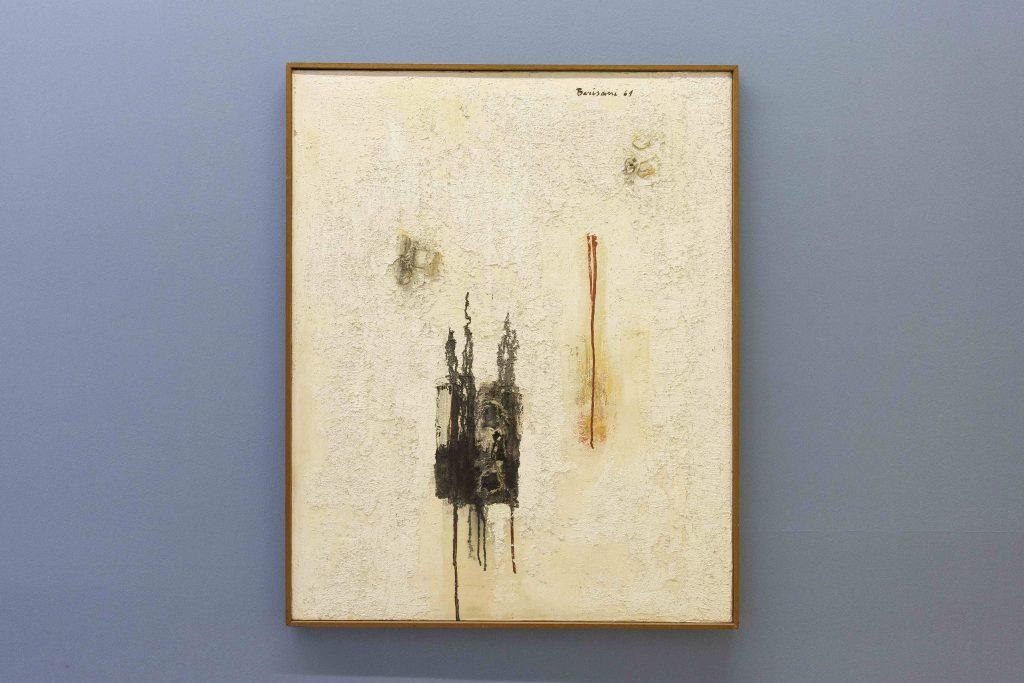 Renato Barisani, Imprevisto, 1961. Collezione Dina Caròla, Napoli. In comodato a Madre · museo d'arte contemporanea Donnaregina, Napoli. Foto © Amedeo Benestante.