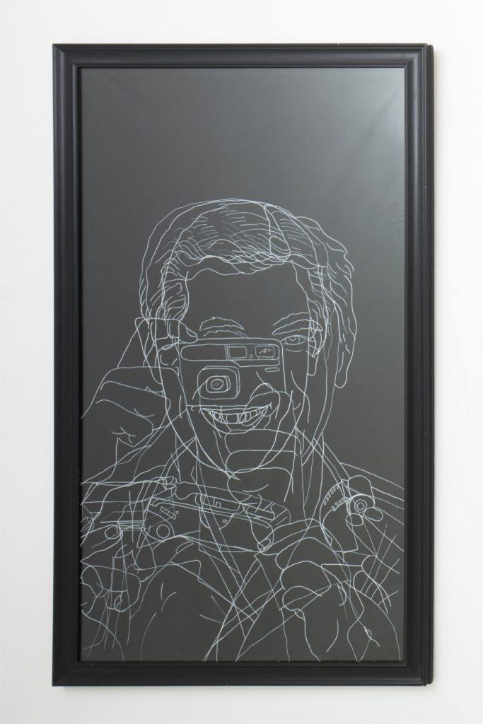 Gabriele Di Matteo, Il prestigiatore, 1996. Courtesy l'artista, Milano. In comodato a Madre · museo d'arte contemporanea Donnaregina, Napoli. Foto © Amedeo Benestante.