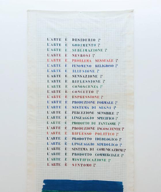 Léa Lublin, Untitled / Senza titolo (dettaglio), 1977. Collezione privata, Napoli.  In comodato a Madre · museo d'arte contemporanea Donnaregina, Napoli. Foto © Amedeo Benestante.