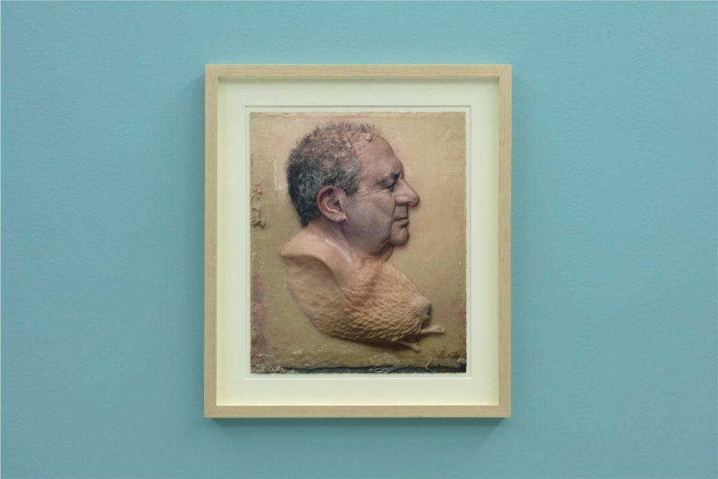 Roberto Cuoghi, PERLA POLLINA, 1996-2016, 2017 (veduta della mostra al Madre · museo d'arte contemporanea Donnaregina, Napoli). Courtesy Fondazione Donnaregina per le arti contemporanee, Napoli.. Foto © Amedeo Benestante.