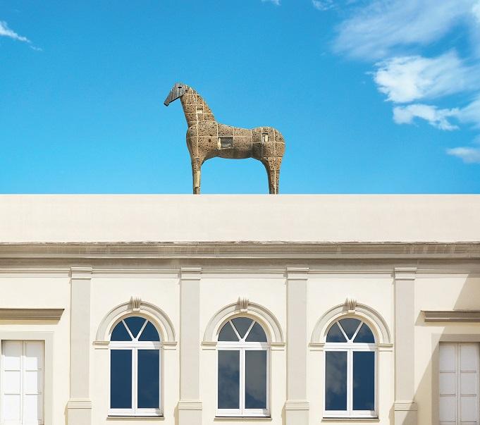 Mimmo Paladino, Senza titolo, 2005. Courtesy Fondazione Donnaregina per le arti contemporanee, Napoli. Foto © Amedeo Benestante.